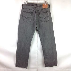 New Men/'s Levi/'s 501 Button Fly Distressed Stretch Jeans 34 x 32 33 x 32